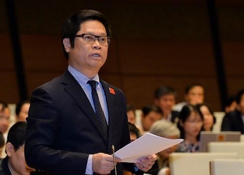 Ông Vũ Tiến Lộc - Chủ tịch VCCI, đại biểu Quốc hội tỉnh Thái Bình. Ảnh: Quốc hội.