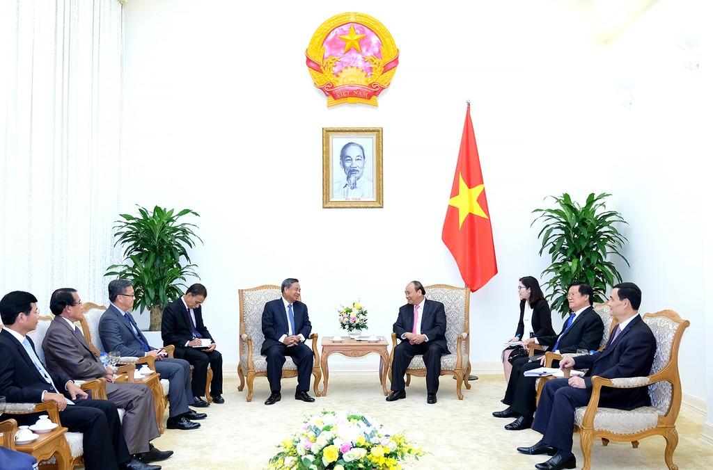 Thủ tướng tiếp Trưởng Ban Tổ chức Trung ương Lào - ảnh 1