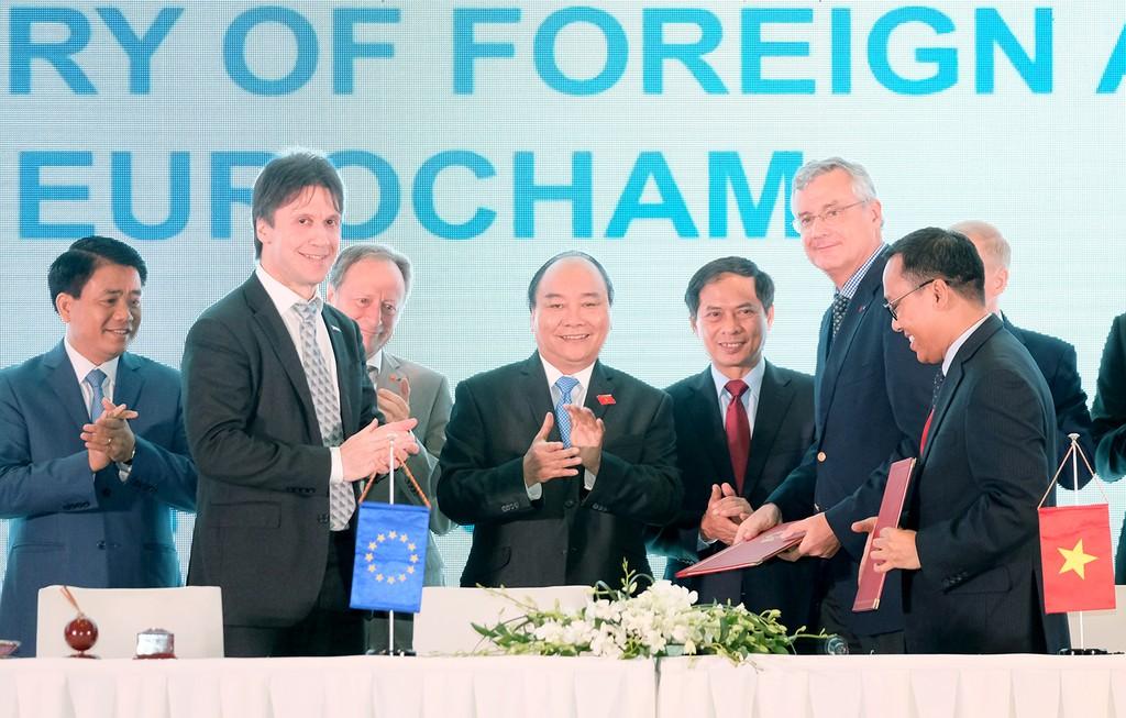 Thủ tướng: Việt Nam phải trở thành điểm đến hấp dẫn cho tất cả doanh nghiệp châu Âu - ảnh 1