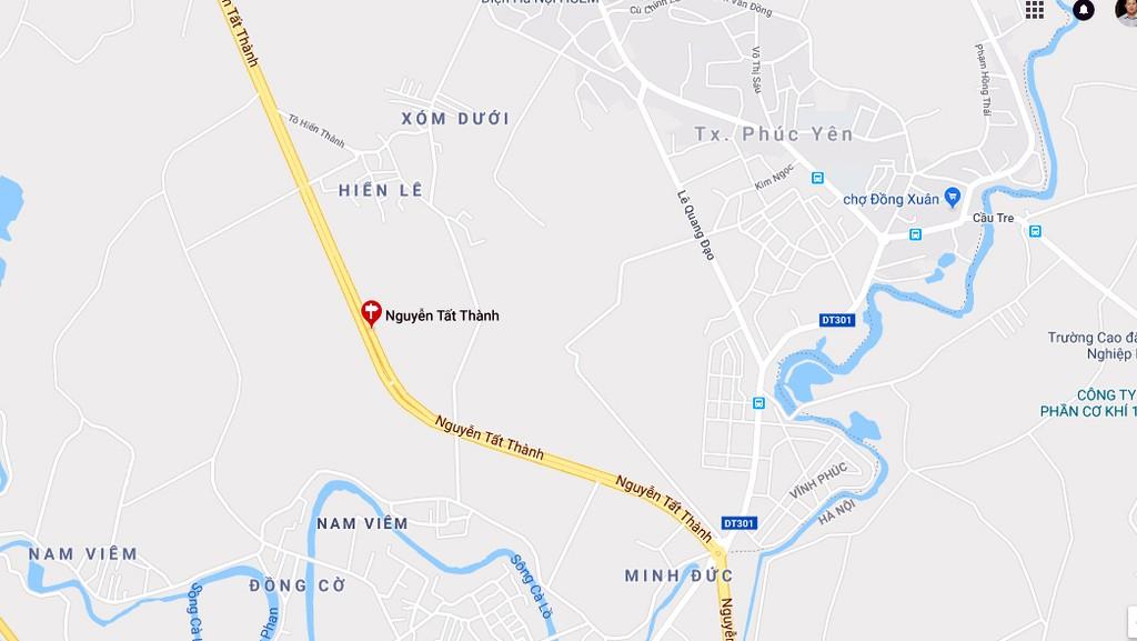 Vĩnh Phúc phê duyệt Kế hoạch lựa chọn nhà thầu đường tránh Xuân Hòa