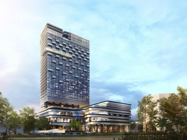 Thiết kế dự án khách sạn 5 sao tại đất vàng 12 Trần Phú, TP. Hải Phòng