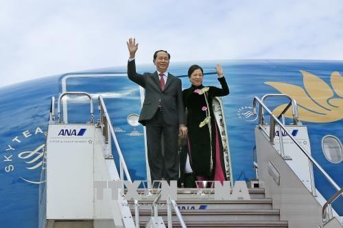 Nhật Bản bắn 21 loạt đại bác chào mừng Chủ tịch nước Trần Đại Quang - ảnh 1