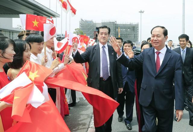 Nhật Bản bắn 21 loạt đại bác chào mừng Chủ tịch nước Trần Đại Quang - ảnh 2