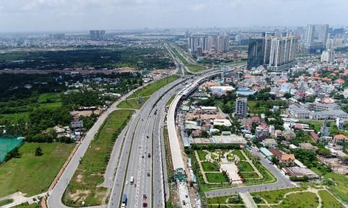 Bất động sản khu Đông TP HCM, nơi được xem là tâm điểm của cơn sốt đất các năm 2017-2018.