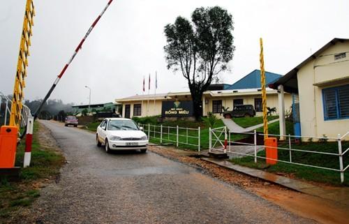 Kinh phí đóng cửa mỏ vàng Bồng Miêu tương đối lớn, khoảng 20 tỷ đồng.
