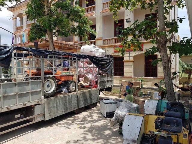 Quảng Bình: Bắt giữ xe tải vận chuyển số lượng lớn hàng không rõ nguồn gốc - ảnh 1