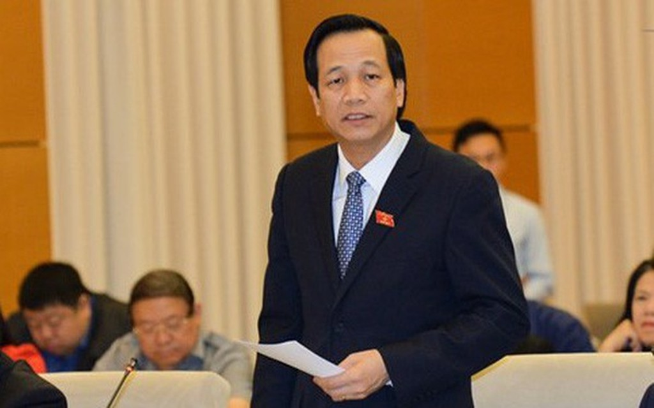 Bộ trưởng Bộ Lao động, Thương binh và Xã hội Đào Ngọc Dung. Ảnh: VGP