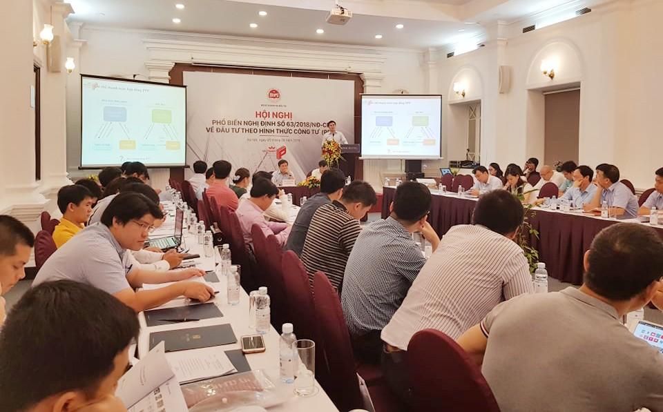 Hội nghị có sự tham gia của đại diện nhiều Sở KH&ĐT, một số cơ quan, doanh nghiệp các tỉnh phía Bắc.  Ảnh: Nguyệt Minh