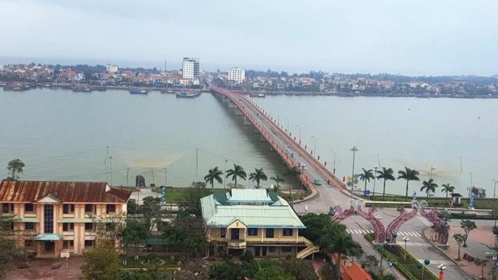 Một góc thành phố Đồng Hới, tỉnh Quảng Bình.