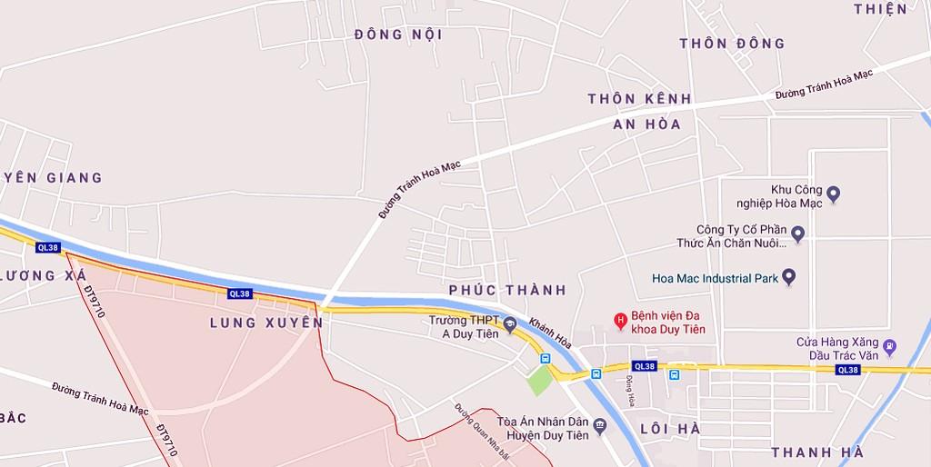 Hà Nam kêu gọi đầu tư đường nối nút giao ngã ba Hòa Mạc