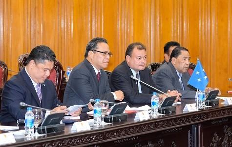Thủ tướng tiếp Chủ tịch Quốc hội Liên bang Micronesia - ảnh 2