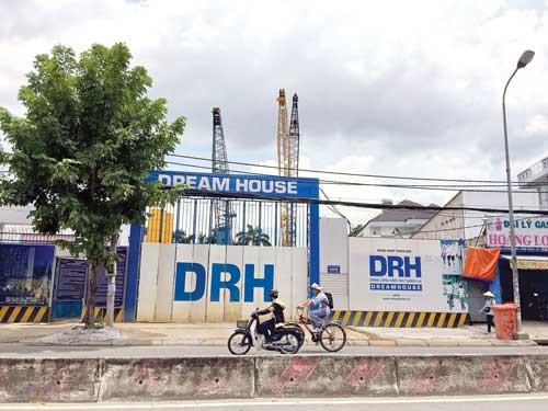 Dự án D-Vela của Công ty Cổ phần Địa ốc An Phú Long làm chủ đầu tư đang cầm cố tại ngân hàng