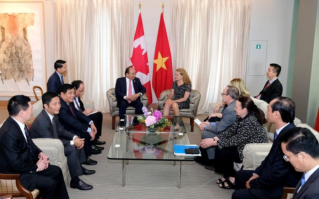 Thủ tướng Nguyễn Xuân Phúc hội kiến Toàn quyền Canada - ảnh 1