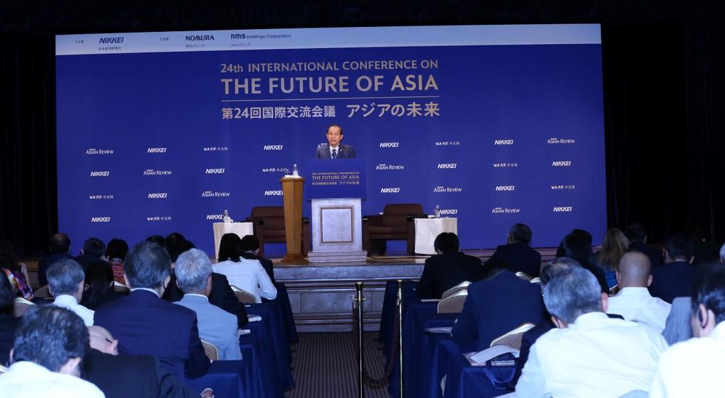Phó Thủ tướng Trương Hòa Bình: VN cam kết 'ba ổn định' cho nhà đầu tư - ảnh 1
