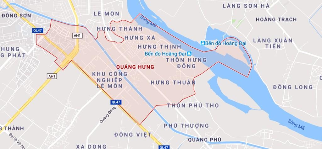 Thanh Hóa gọi đầu tư vào Khu dân cư phường Quảng Hưng