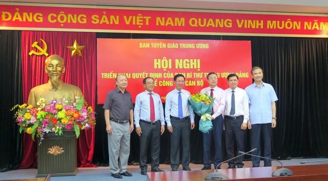 Công bố Quyết định bổ nhiệm đồng chí Bùi Trường Giang giữ chức Phó Trưởng Ban Tuyên giáo Trung ương - ảnh 1