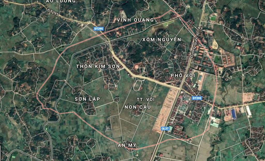 Cơ khí Đại Mỗ trúng sơ tuyển Dự án BT Xây dựng đường trục thị trấn Vôi