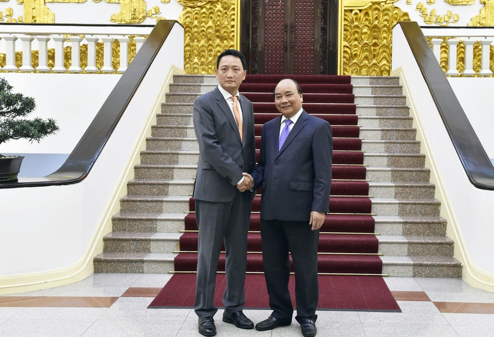 Thủ tướng tiếp tân Đại sứ Hàn Quốc và Mozambique - ảnh 1