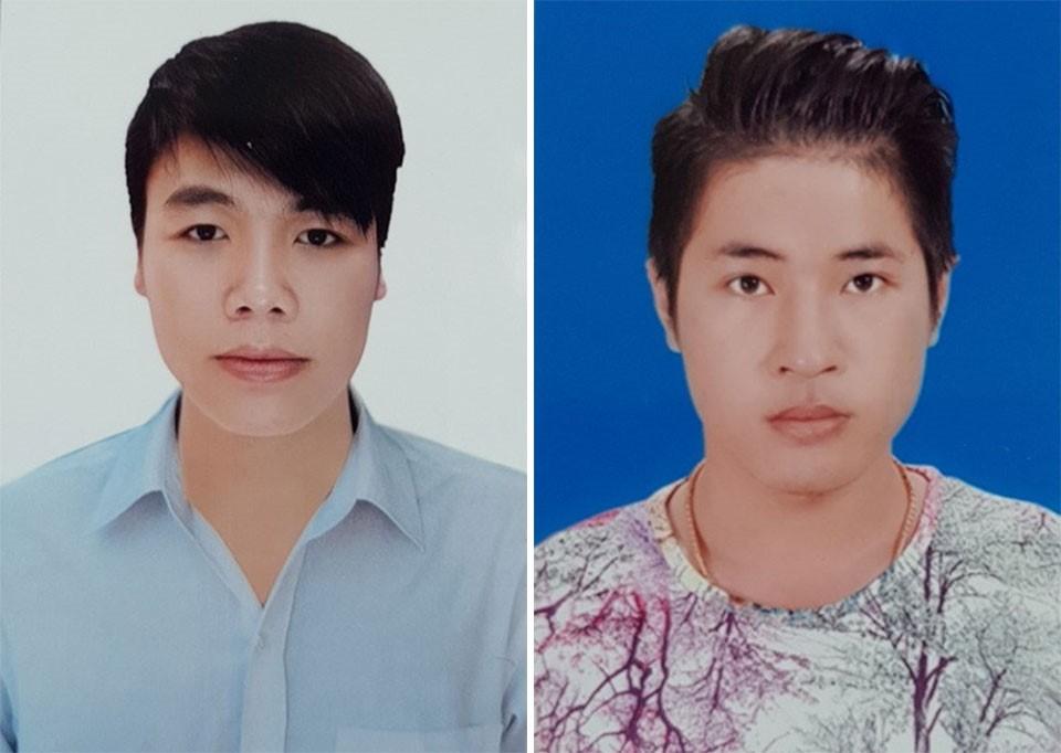 Trần Hoàng Hoàng (trái) và Phạm Đức Huy