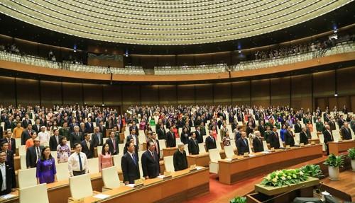 Lễ bế mạc kỳ họp thứ 5 Quốc hội khóa XIV. Ảnh: VGP