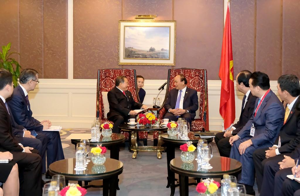 Thủ tướng tiếp Chủ tịch Tập đoàn ThaiBev - ảnh 1