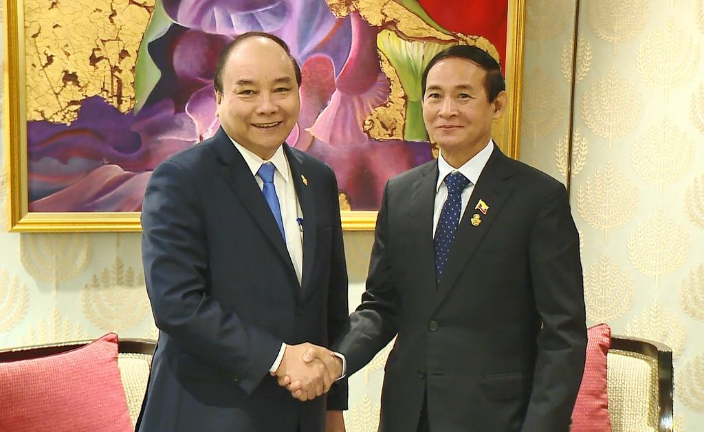 Thủ tướng gặp lãnh đạo các nước và Tổng Thư ký ASEAN - ảnh 1
