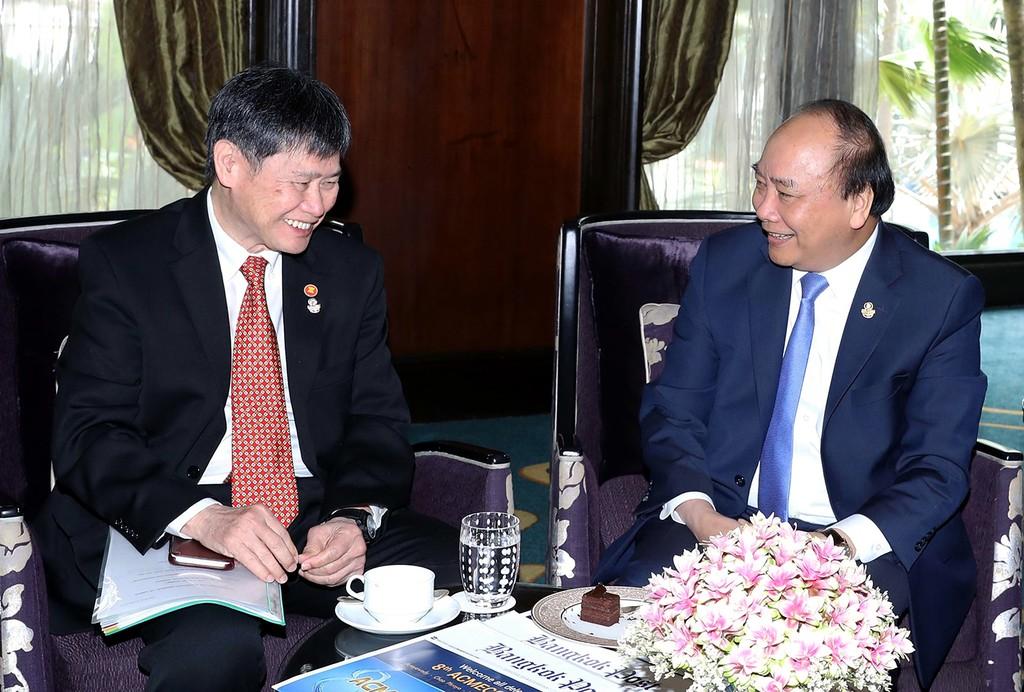 Thủ tướng gặp lãnh đạo các nước và Tổng Thư ký ASEAN - ảnh 2