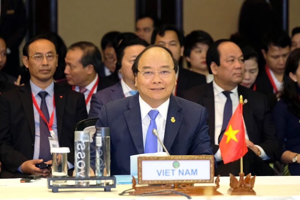 Thủ tướng kết thúc chuyến tham dự Hội nghị ACMECS 8 và CLMV 9 - ảnh 2