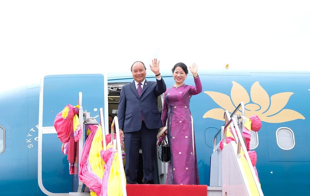 Thủ tướng kết thúc chuyến tham dự Hội nghị ACMECS 8 và CLMV 9 - ảnh 3