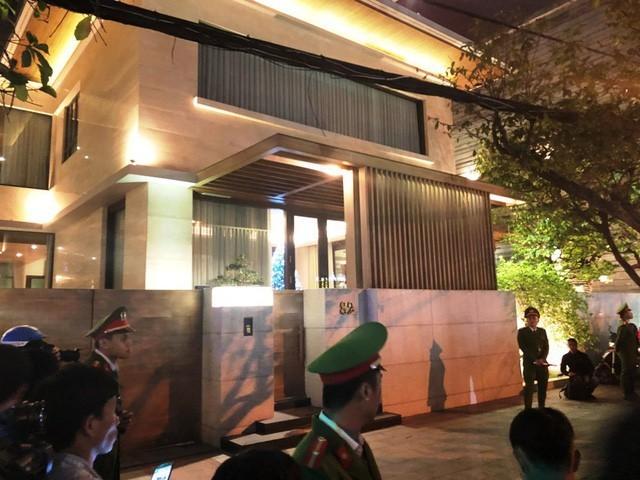 Nhà riêng của Vũ nhôm tại số 82 Trần Quốc Toản, Đà Nẵng (ảnh: Công an khám xét nhà riêng của Vũ nhôm hồi tháng 12/2017)