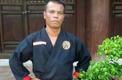 Võ sư Nguyễn Mạnh Hùng.