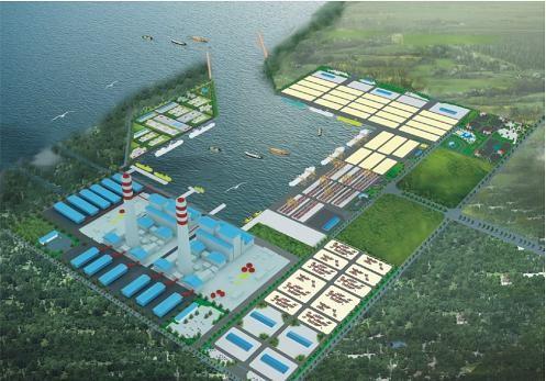 Phối cảnh cảng biển Mỹ Thủy (Quảng Trị)