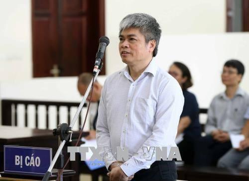 Nguyên Phó Tổng Giám đốc PVN Nguyễn Xuân Sơn tại tòa phúc thẩm.