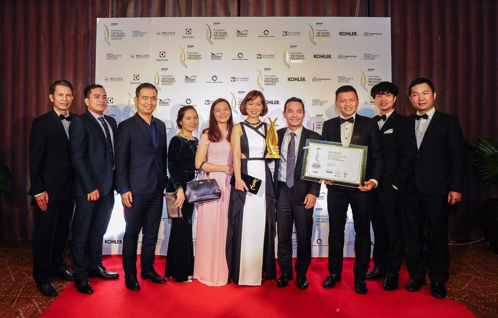Tập đoàn An Gia chính thức được vinh danh tại hạng mục Dự án phân khúc hạng trung tốt nhất