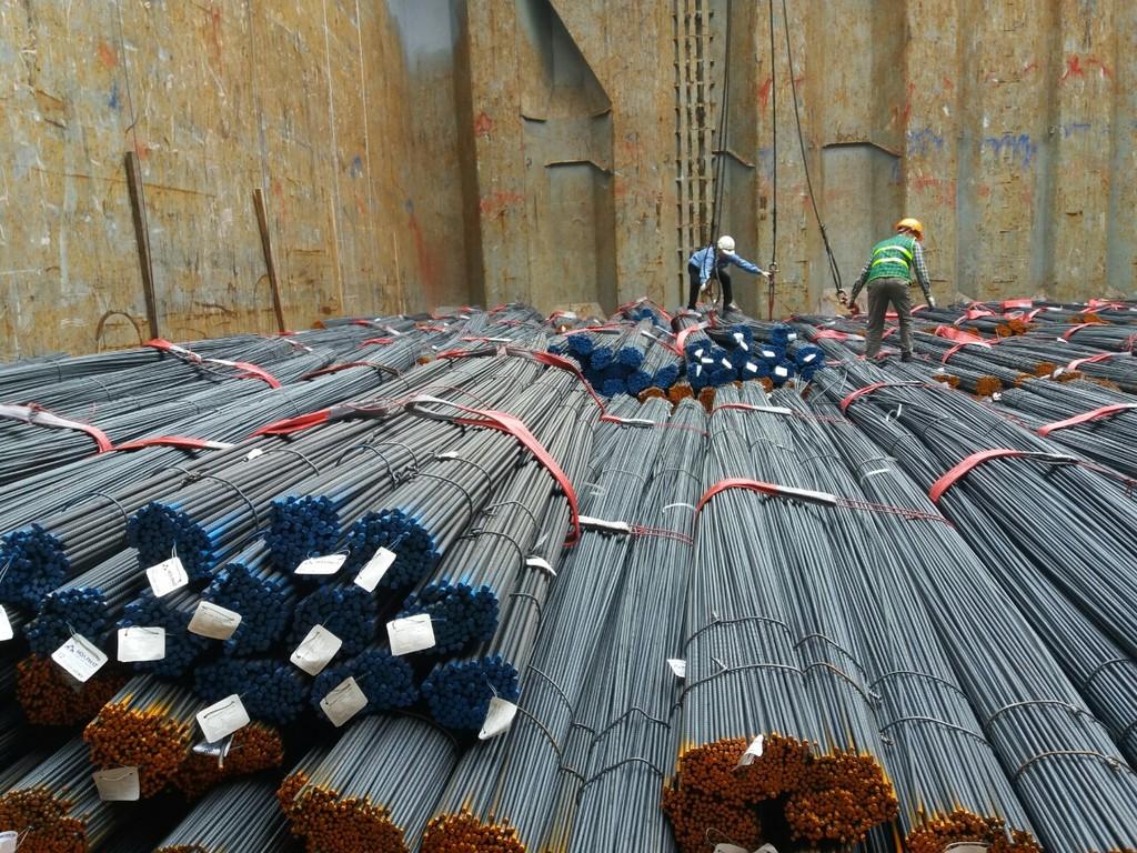 6 tháng đầu năm 2018, thép xây dựng Hòa Phát đạt sản lượng  gần 1,1 triệu tấn thép