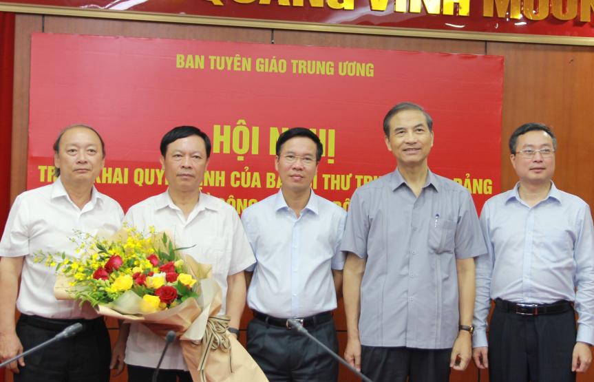 Triển khai quyết định của Ban Bí thư Trung ương Đảng về công tác cán bộ - ảnh 1