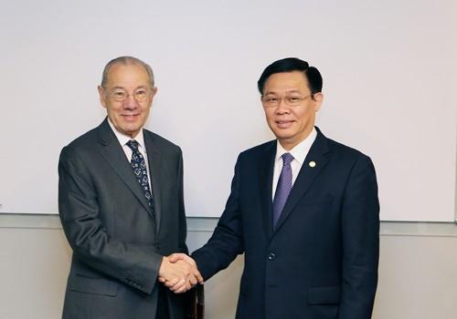Phó Thủ tướng Vương Đình Huệ kêu gọi đầu tư thương mại tại trung tâm tài chính Nam Mỹ - ảnh 2