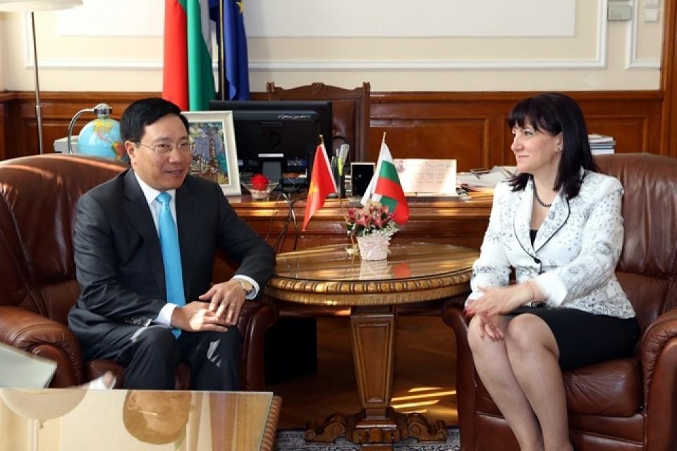 Việt Nam-Bulgaria nhất trí đưa hợp tác kinh tế lên tầm cao mới - ảnh 1