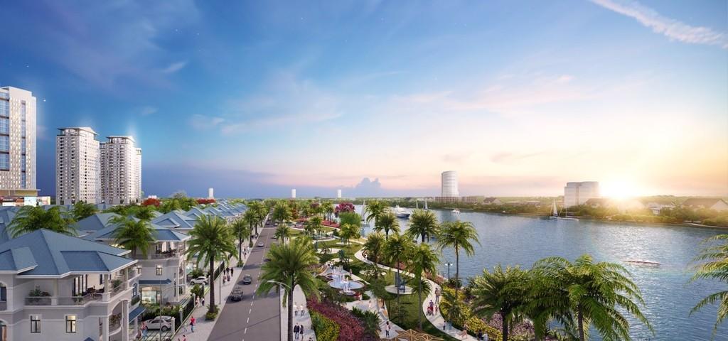 Khởi công phân đoạn II tuyến kè bờ sông Sài Gòn – Khu đô thị Vạn Phúc - ảnh 1