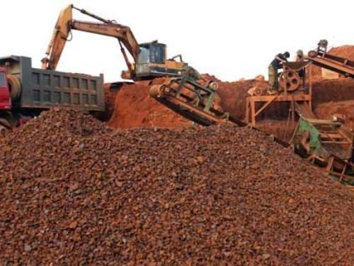 Dự án liên doanh với doanh nghiệp Trung Quốc xin xuất khẩu quặng sắt (Ảnh minh họa/Công Thương)