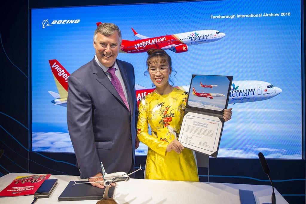 Boeing và Vietjet ký Hợp đồng 100 máy bay trị giá 12,7 tỷ USD - ảnh 1