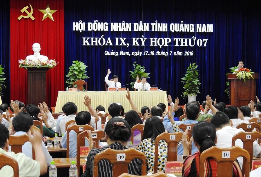 HĐND tỉnh Quảng Nam biểu quyết cho ông Lê Phước Hoài Bảo thôi làm Đại biểu HĐND tỉnh nhiệm kỳ 2016-2021