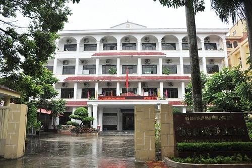 Trụ sở Sở Giáo dục và Đào tạo Lạng Sơn