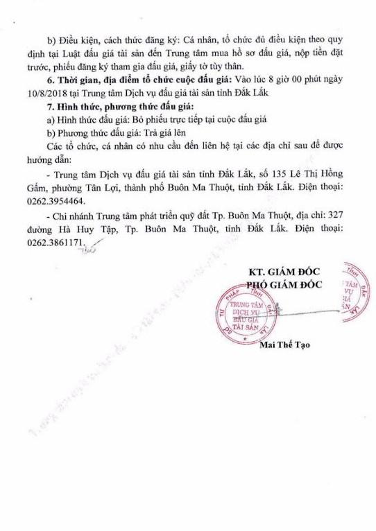 Đấu giá quyền sử dụng đất tại thành phố Buôn Ma Thuột, Đắk Lắk - ảnh 2