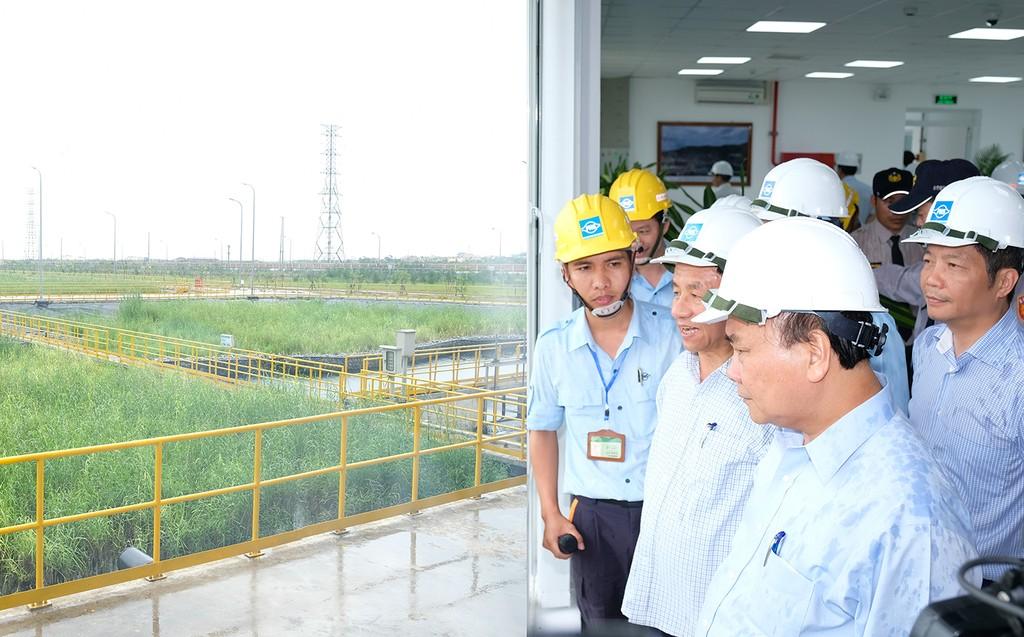 Thủ tướng thị sát hoạt động, làm việc với Formosa Hà Tĩnh - ảnh 4