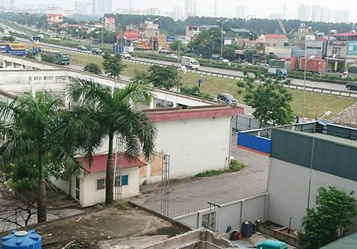 Lô đất dự kiến xây dựng bến xe nằm sát vành đai 3.