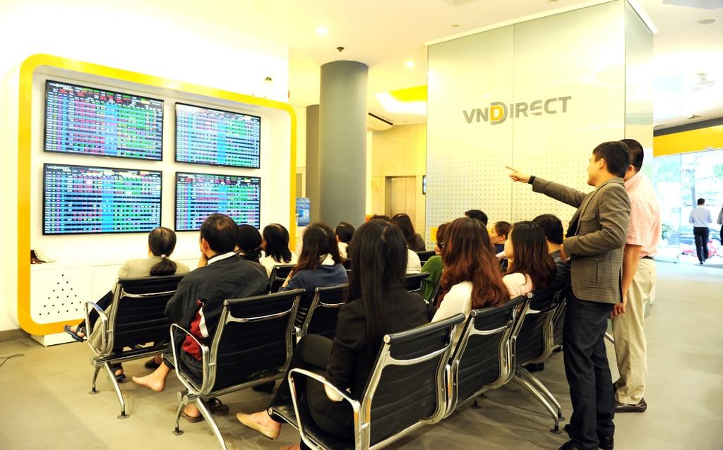 Lãi ròng quý II/2018 của VNDirect giảm 21%