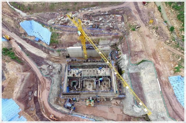 Hạng mục CMVietnam đang thực hiện tại dự án thuỷ điện Xepian Xenamnoy