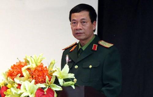 Quyền Bộ trưởng Bộ Thông tin và Truyền thông Nguyễn Mạnh Hùng