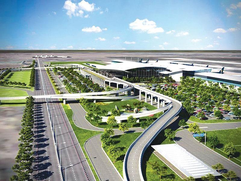Phối cảnh Dự án Cảng hàng không quốc tế Long Thành. Ảnh Internet